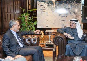 Глава DEWA принял Посла Бразилии в ОАЭ