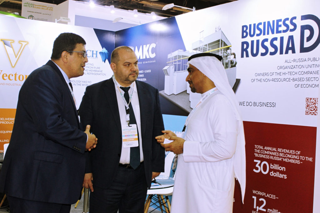 Бизнес-миссия «Деловой России» на WETEX-2019 с успехом завершена