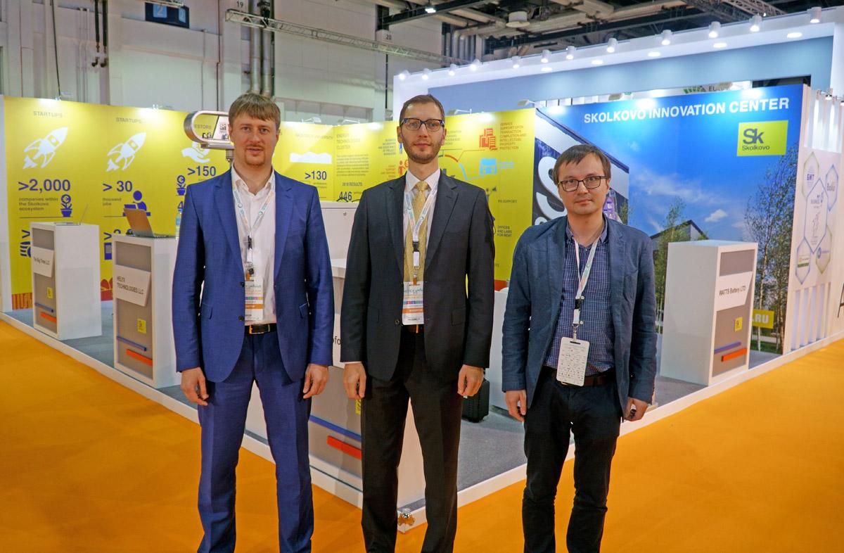 Участники российской экспозиции WETEX 2019